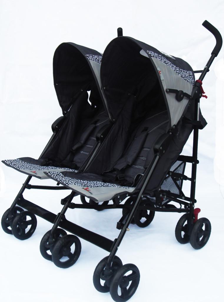 Tandem Stroller 1