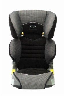 Booster Seat With Tether Strap