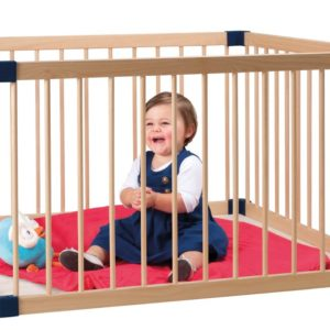 Play Pen - Wood 1m x 1m