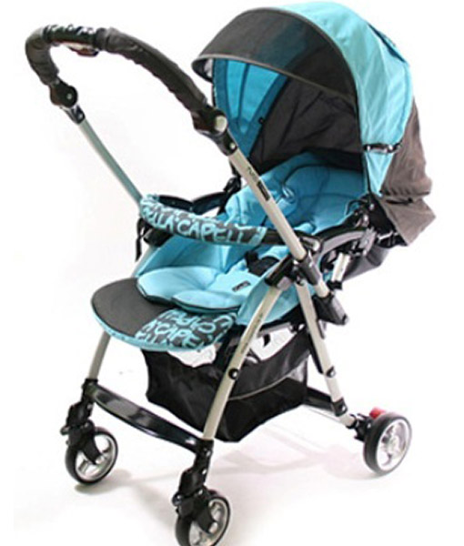 Reverse Handle Pram - light weight 6.9kg